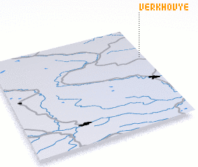 3d view of Verkhov\