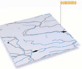 3d view of Dubinino