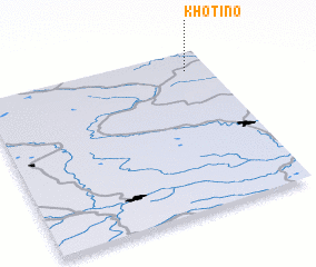 3d view of Khotino