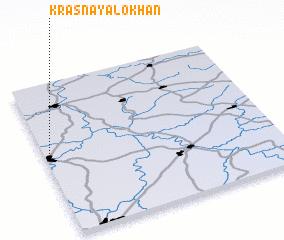 3d view of Krasnaya Lokhan\