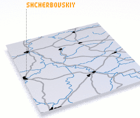 3d view of Shcherbovskiy