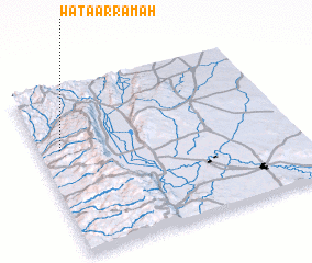 3d view of Waţá ar Rāmah