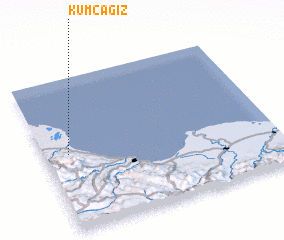 3d view of Kumcağız