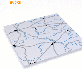 3d view of Vyrsk