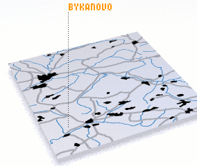 3d view of Bykanovo