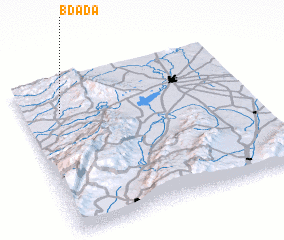 3d view of Bdādā