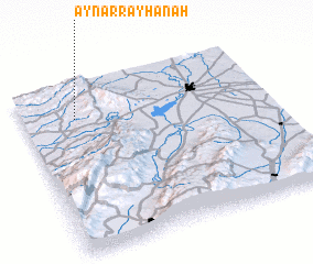 3d view of 'Ayn ar Rayḩānah