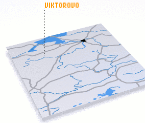 3d view of Viktorovo