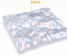 3d view of Barta
