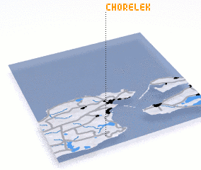 3d view of Chorelek