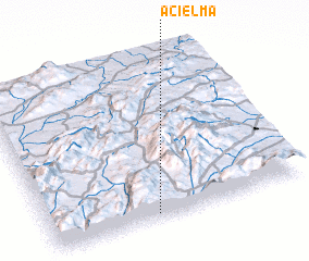 3d view of Acıelma