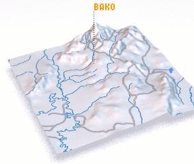 3d view of Bako