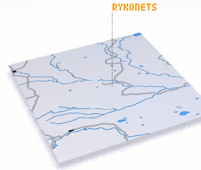 3d view of Rykonets