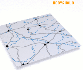 3d view of Kobyakovo