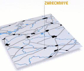 3d view of Zarechnoye