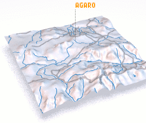 3d view of Āgaro