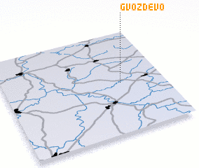 3d view of Gvozdëvo