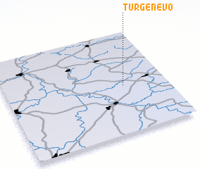 3d view of Turgenevo