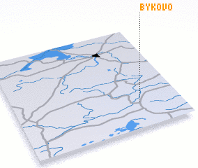 3d view of Bykovo