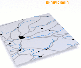 3d view of Khomyakovo