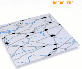 3d view of Bogachëvo