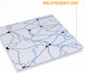 3d view of Maloye Izmaylovo