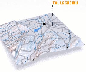 3d view of Tall ash Shīḩ