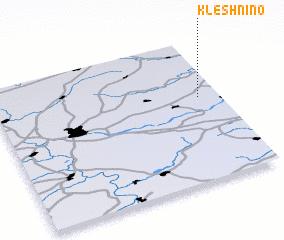 3d view of Kleshnino