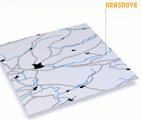 3d view of Krasnoye