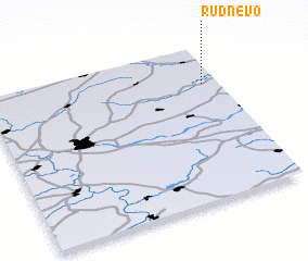 3d view of Rudnëvo