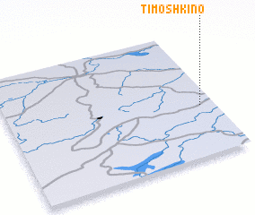 3d view of Timoshkino