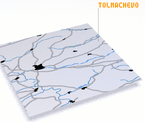 3d view of Tolmachëvo