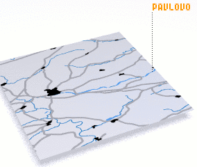 3d view of Pavlovo