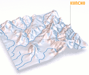 3d view of Kuncho