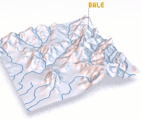 3d view of Balē