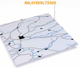 3d view of Maloye Kol\