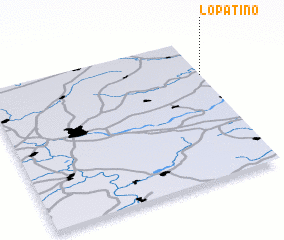 3d view of Lopatino