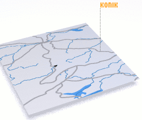 3d view of Konik