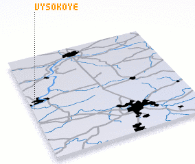 3d view of Vysokoye