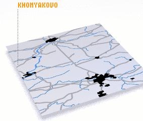 3d view of Khomyakovo