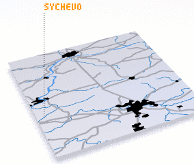 3d view of Sychëvo