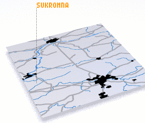 3d view of Sukromna