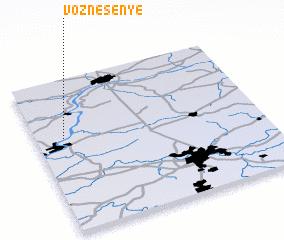 3d view of Voznesen\