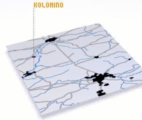 3d view of Kolomino
