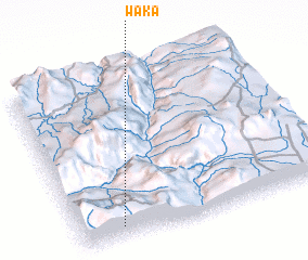 3d view of Waka