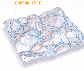 3d view of Carsa Ghesce