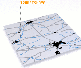 3d view of Trubetskoye