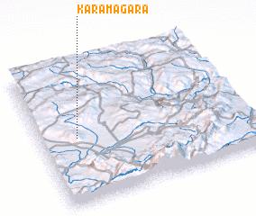 3d view of Karamağara