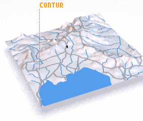 3d view of Contur
