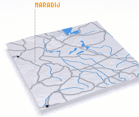 3d view of Marādij